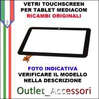 Vetro TouchScreen Touch Mediacom MP10PB Tablet Ricambio Originale
