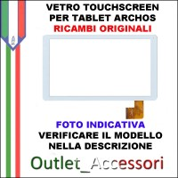 Vetro Touch Touchscreen Tablet Archos Originale TABLET ARCHOS 70B Copper BIANCO