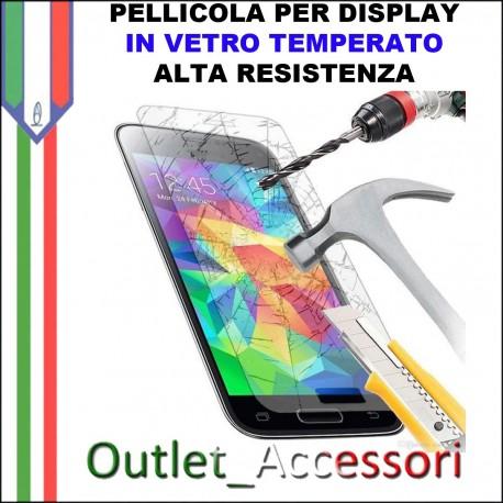 Pellicola Protezione Schermo Display Vetro Temperato Alta Resistenza SAMSUNG S5