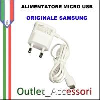 Alimentatore Micro USB Samsung Originale ETA-OU10EWE