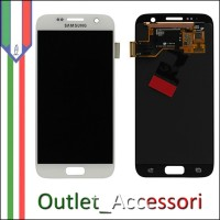 Display LCD Touch Samsung Galaxy S7 Originale SM-G930f G930 BIANCO Schermo Completo GH97-18523D