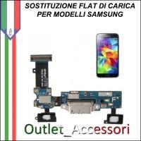 Cambio Sostituzione Connettore Flat Ricarica Carica Samsung Galaxy S6 EDGE