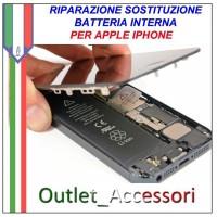 Sostituzione Batteria Pila Inerna Non Carica Apple Iphone 6 6g