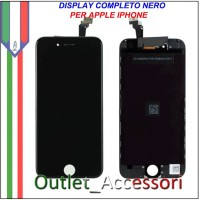Display Schermo LCD Touch Screen Vetro Apple Iphone 6 PLUS A1522, A1524 Nero Black