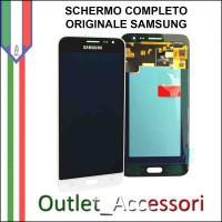 Display LCD Touch Samsung J1 2016 J120F Originale Bianco Schermo GH97-18414A