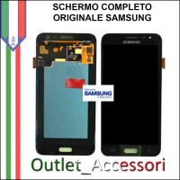 Display LCD Touch Samsung J1 2016 J120F Originale nero Schermo GH97-18414A