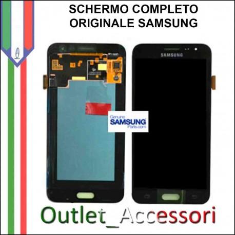 Display LCD Touch Samsung J1 2016 J120F Originale nero Schermo GH97-18414A