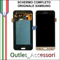 Display Schermo LCD Touch Samsung J1 2016 J120F Originale ORO Schermo GH97-18414C