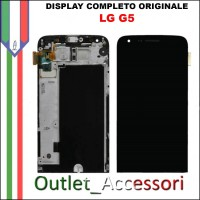 Display LG G5 Vetro Touch Lcd Frame Schermo Originale