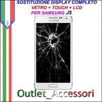 Cambio Sostituzione Display Rotto Samsung J5 J500F Schermo Vetro Touch Lcd Assemblaggio