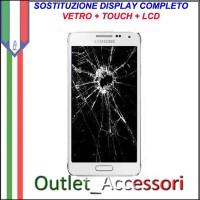 Sostituzione Display Samsung Galaxy S6 EDGE+ Lcd Vetro Schermo Rotto Riparazione Cambio Assemblaggio