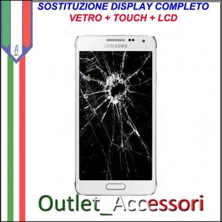 Sostituzione Display Samsung Galaxy S7 EDGE Lcd Vetro Schermo Rotto Riparazione Cambio Assemblaggio