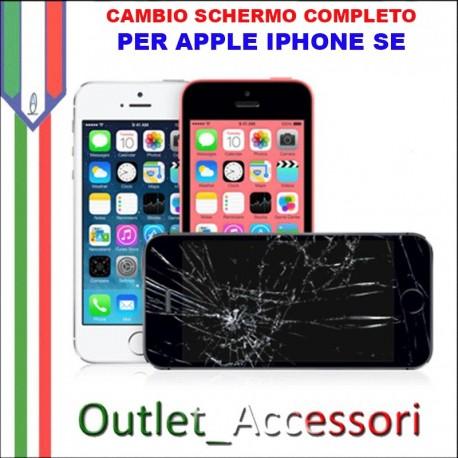 Sostituzione Display Rotto per Apple Iphone SE Riparazione Cambio Lcd Vetro Touch Touchscreen