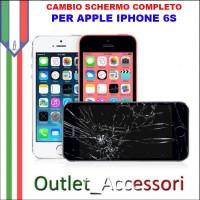 Sostituzione Display Rotto per Apple Iphone 6S Riparazione Cambio Lcd Vetro Touch Touchscreen