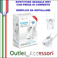 RANGE EXTENDER AMPLIFICATORE SEGNALE WIRELESS WIFI TP-LINK