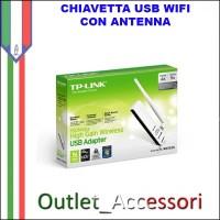 SCHEDA DI RETE WIRELESS N 150MBPS ALTO GUADAGNO USB TP-LINK TL-WN722N