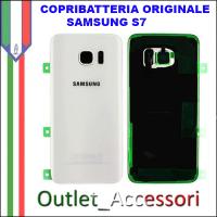 Copribatteria Back Cover Originale Samsung Galaxy S7 SM-G930F Vetro