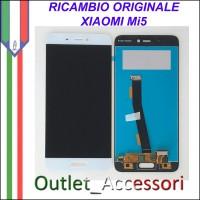 Schermo Display Lcd Touch Vetro Originale Xiaomi Mi5 BIANCO