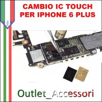 Cambio Sostituzione Saldatura Scheda Madre Connettore IC Touch Touchscreen Apple IPHONE 6 PLUS