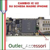 Cambio Sostituzione Scheda Madre Connettore IC U2 IPHONE