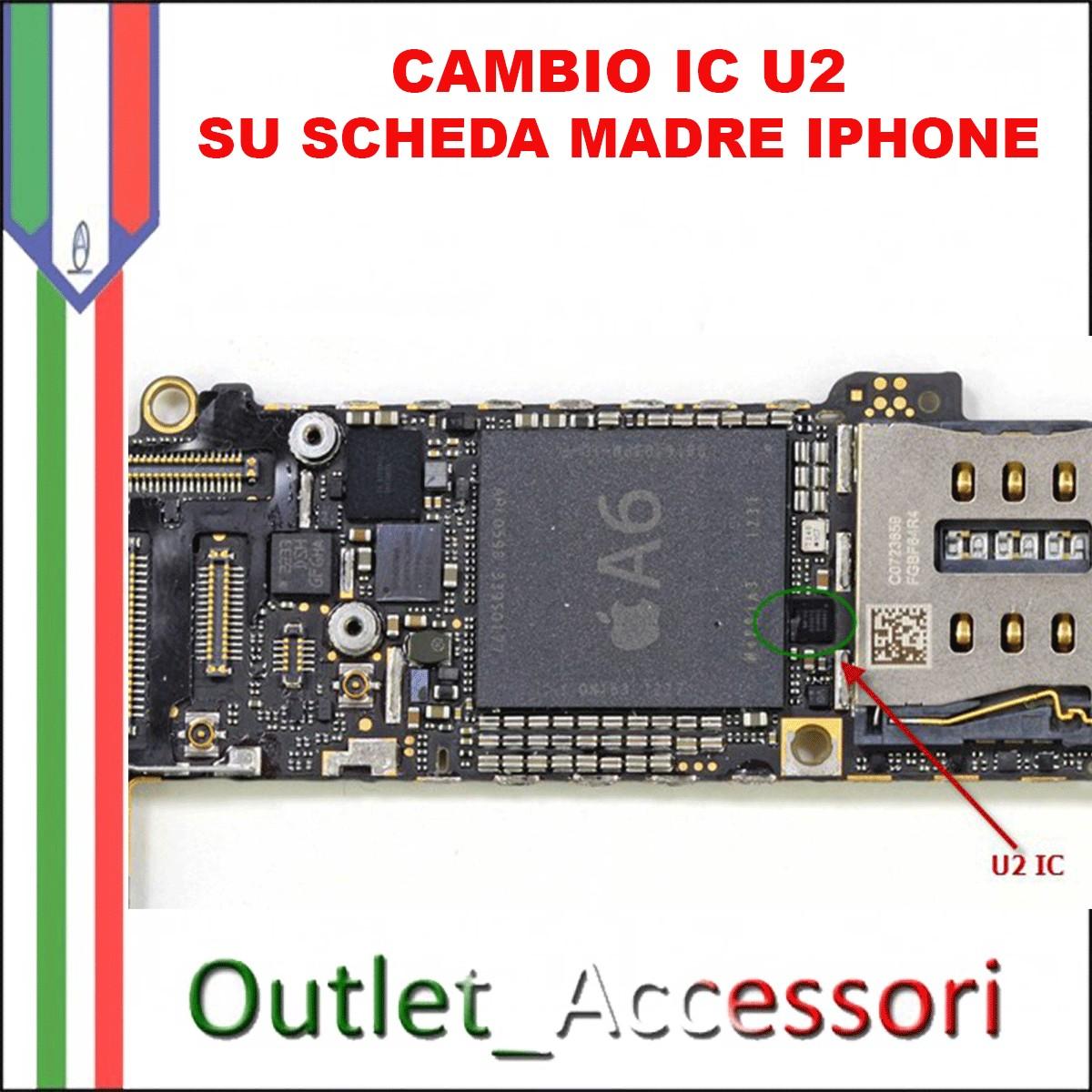 Schemi Elettrici Iphone : Cambio connettore ic carica u a scheda madre iphone