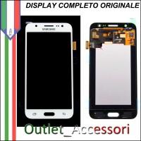 Display LCD Touch Samsung J7 2016 J710F Originale Bianco Schermo GH97-18931C