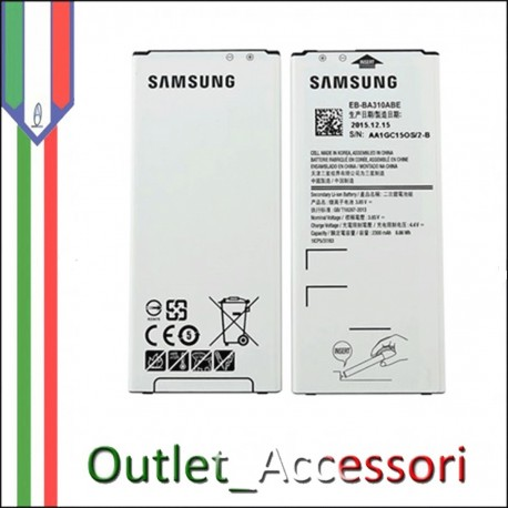 Batteria Pila Interna Samsung Galaxy A5 2016 Originale SM
