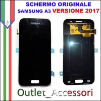 Display LCD Touch Samsung A3 2017 A320 NERO