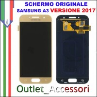 Display LCD Touch Samsung A3 2017 A320 A320F GOLD