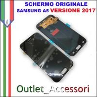 Display LCD Touch Samsung A5 2017 A520 A520F Nero Black Schermo Completo Originale GH97-19732A