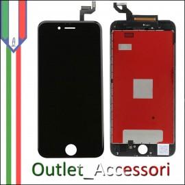 Display Schermo LCD Touch Screen Vetro Apple Iphone 6S A1688 Nero Black