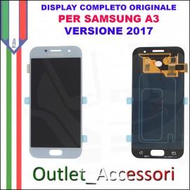 Display LCD Touch Samsung A3 2017 A320 A320F Gold Oro Schermo Completo Originale GH97-19732B