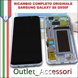 Display LCD Touch Samsung Galaxy S7 Originale SM-G930f G930 NERO Black Sapphire Schermo Completo GH97-18523A