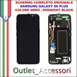 Display LCD Touch Samsung Galaxy S8 PLUS G955 Originale SM-G955F BLU CORAL BLUE Schermo Completo GH97-20470D