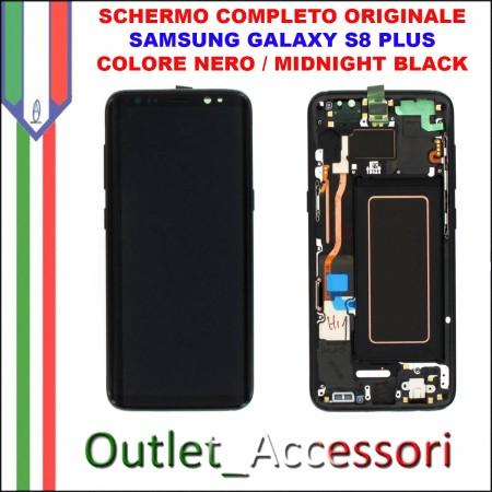 Display LCD Touch Samsung Galaxy S8 PLUS G955 Originale SM-G955F BLU CORAL BLUE Schermo Completo GH97-20470D