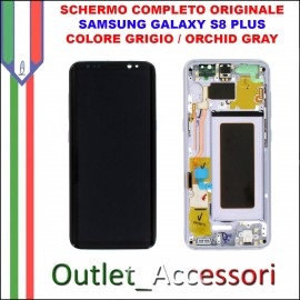 Display LCD Touch Samsung Galaxy S8 PLUS G955 Originale SM-G955F NERO Midnight Black Schermo Completo GH97-20470A