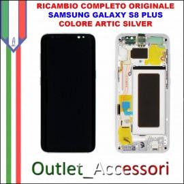Display LCD Touch Samsung Galaxy S8 PLUS G955 Originale SM-G955F GRIGIO Orchid Gray Schermo Completo GH97-20470C