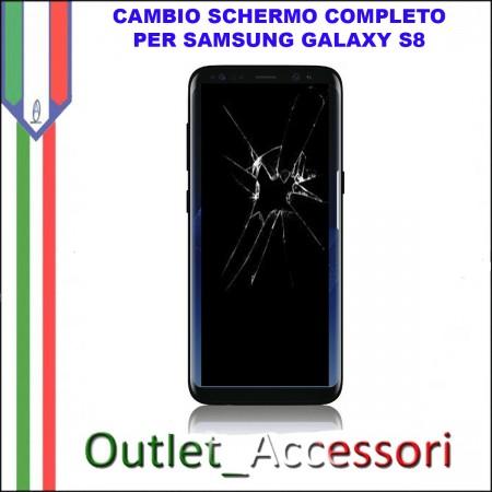 Sostituzione Display Samsung Galaxy S7 EDGE G935F Lcd Vetro Schermo Rotto Riparazione Cambio Assemblaggio