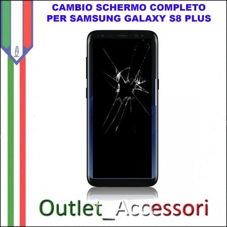 Sostituzione Display Samsung Galaxy S8 G950 Lcd Vetro Schermo Rotto Riparazione Cambio Assemblaggio G950F