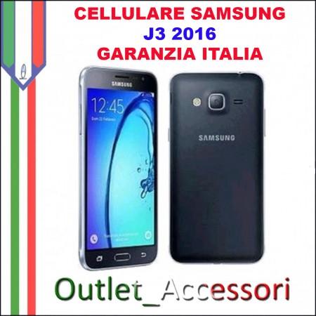 Cellulare Smartphone Samsung J3 2016 SM-J320FN J320 NERO