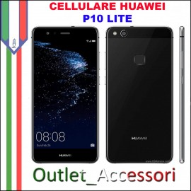 Cellulare Smartphone Huawei P10 Lite NERO BLACK Nuovo Garanzia ITALIA