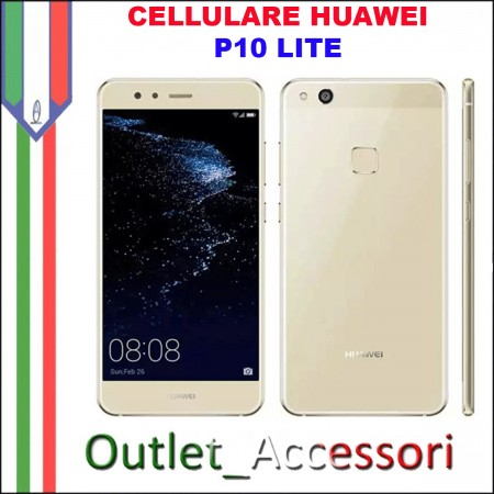 Cellulare Smartphone Huawei P10 Lite GOLD