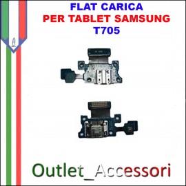 Flat Carica e Microfono Samsung Tab S T705 Tablet Jack USB Ricarica