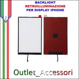 Backlight Retroilluminazione Display Iphone 6 Luminosità Schermo LCD