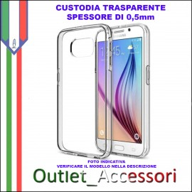 Cover Custodia Samsung Galaxy S7 EDGE G935F Trasparente 0,5 0,5mm Clear Case