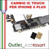 Cambio Sostituzione IC TOUCH IPHONE 6 Scheda Madre Connettore U2402 Touchscreen