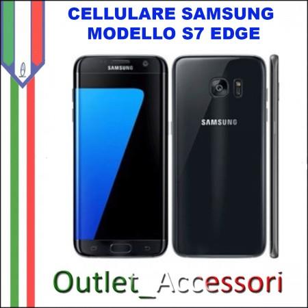 Cellulare Smartphone SamsungS7 Edge Galaxy G935 SM-G935F NERO BLACK Nuovo Garanzia ITALIA