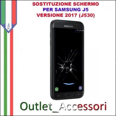 Sostituzione Display Rotto Samsung J5 2017 J530 j530FN Schermo Vetro Touch Lcd Assemblaggio