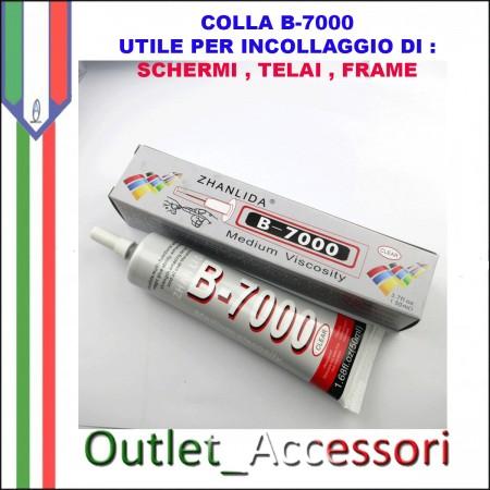 Colla B7000 B-7000 Incollaggio Schermi Display Frame Cornice Cellulari