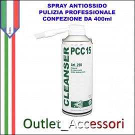 Spray Antiossido Pulizia Componenti Scheda Madre PCC15 Isopropanolo